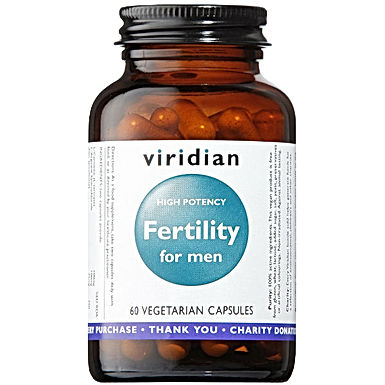 VIRIDIAN, HIGH POTENCY FERTILITY FOR MEN