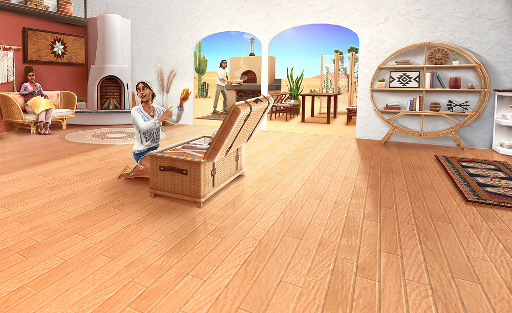 The Sims Freeplay Desert Oasis Update March 2020