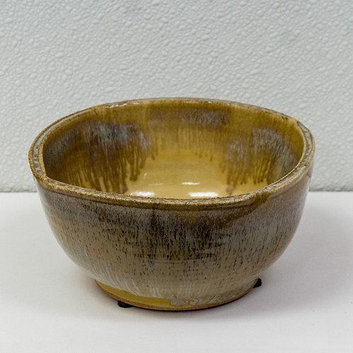 Split Rim Yellow Bowl