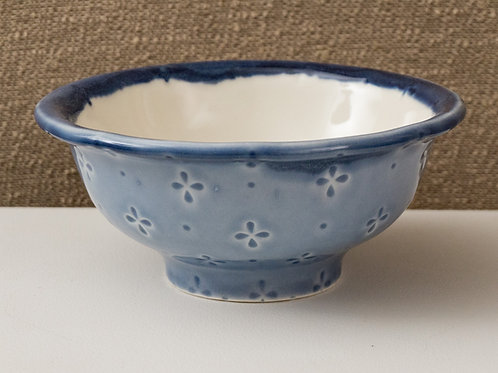Blue & White Large Bowl
