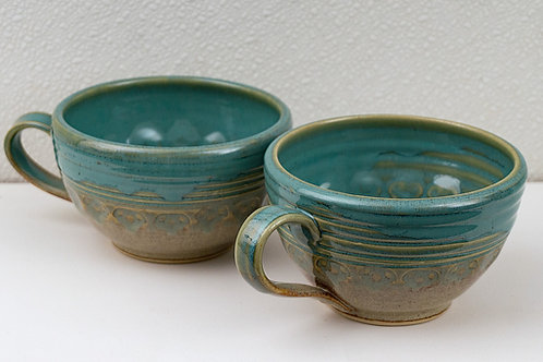 Soup Mugs, set of 2