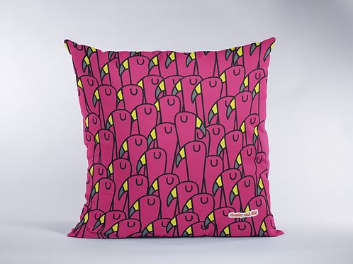 Fabulous Flamingo Pattern Cushion