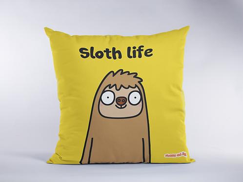 Sloth Life Cushion