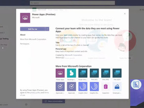 Create Your First Custom App for Microsoft Teams with Power Apps in 5 Minutes