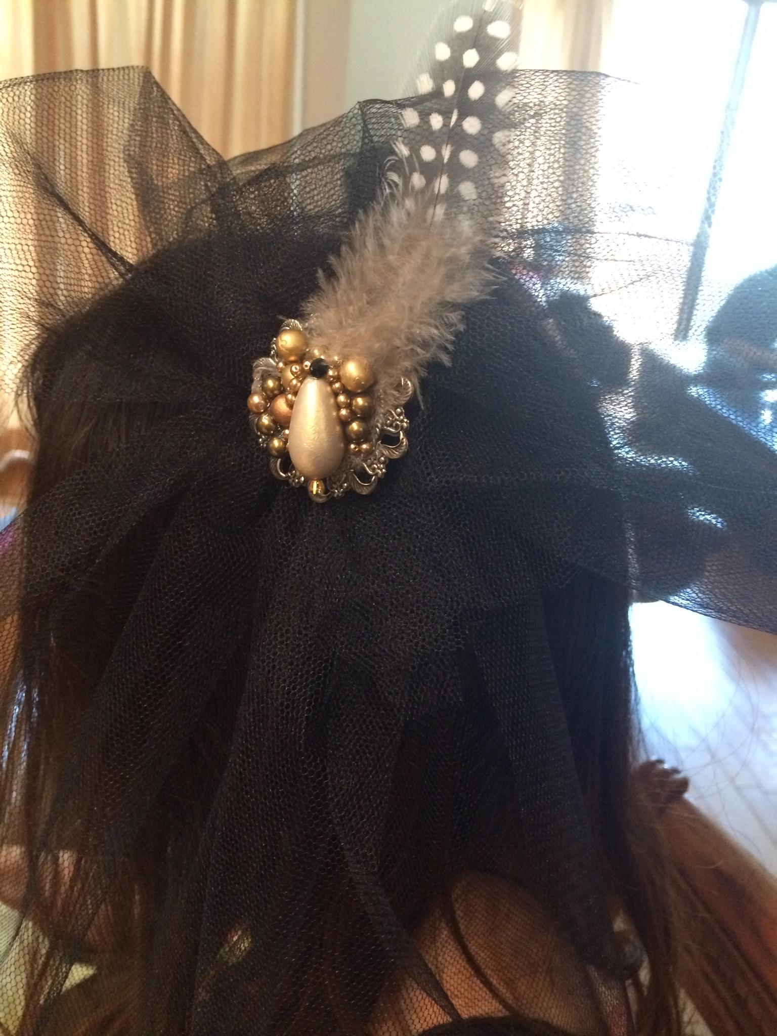 オリジナルヘッドドレス