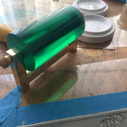 My beautiful Durathene roller from Lawrence's Art Shop in Hove