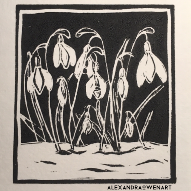 Little Snowdrops Linocut .PNG