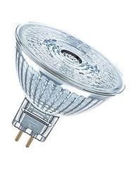 Emporio della Lampada Torino lampadina LED 12V alogena MR16 GU5,3 vetro