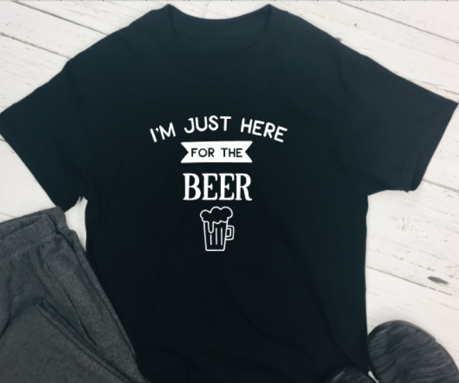 im just here for the beer