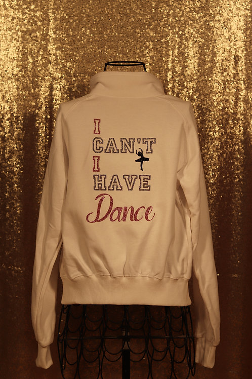 MI Can't I have Dance Sweater White