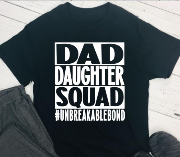 dad daughter squad