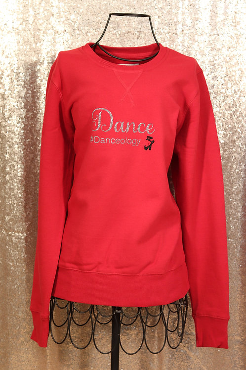 #Danceology Red Sweater