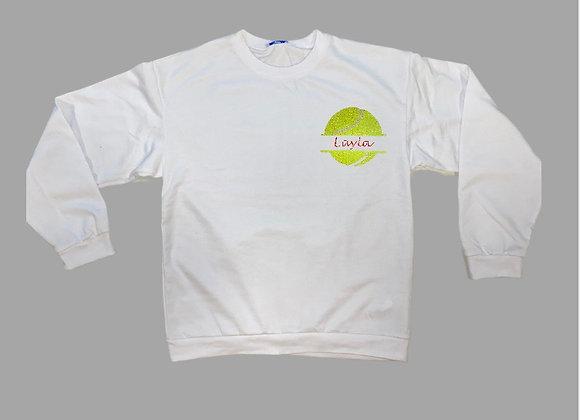 NTB - Personalised Women's Sweatshirt - White