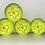 Thumbnail: NTB personalised adult tennis balls - Logo edition