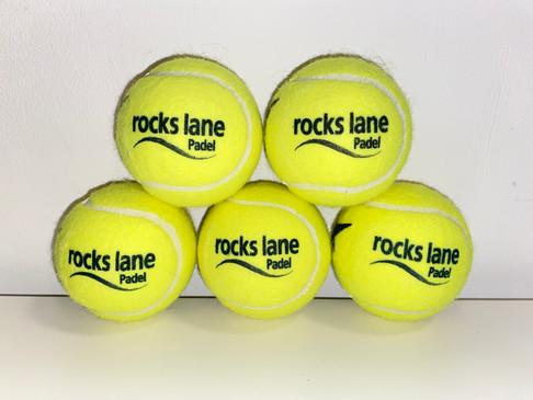 Rocks lane Padel centre logo