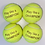 Thumbnail: NTB Personalised Adult's Tennis Balls - Glitz & Glam Edition