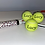 Thumbnail: NTB Personalised Adult's Tennis Balls - Standard Text Edition