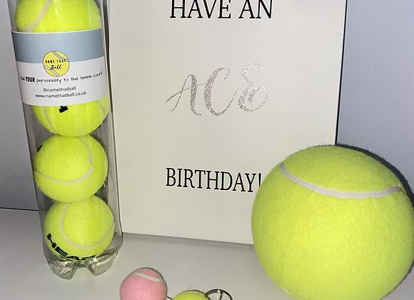 NTB Personalised tennis birthday bag