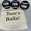 Thumbnail: NTB Personalised coloured dog balls