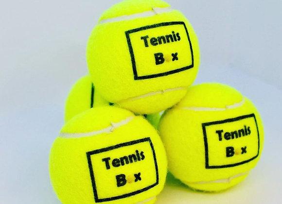 NTB personalised adult tennis balls - Logo edition