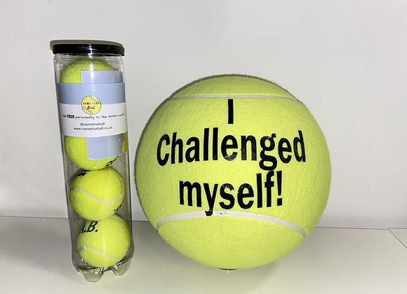 NTB Personalised Medium Tennis Ball