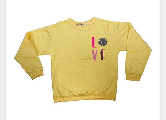 NTB - Personalised Women's Sweatshirt - Lemon Yellow