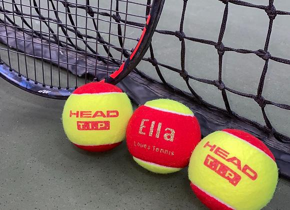 NTB Personalised Children's Tennis Balls