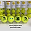 Thumbnail: NTB Personalised Adult's Tennis Balls - Iconic Tennis Players Edition