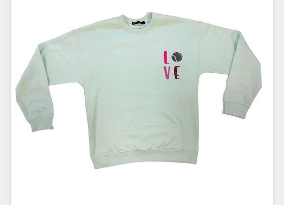 NTB- Personalised women's sweatshirt - Apple Green