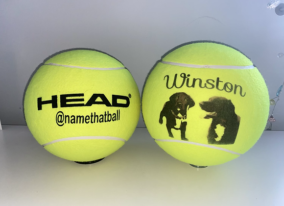 NTB Personalised Giant Tennis Ball