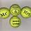 Thumbnail: NTB Personalised Adult's Tennis Balls - Wedding Edition