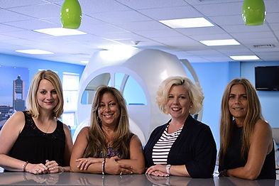 Helen, Marian, Christine, and Mimi