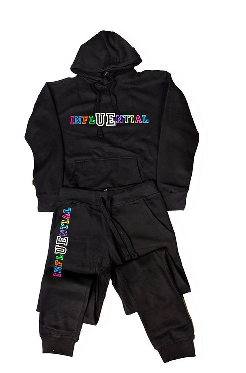 InflUEncial Hoodie + Jogger Set