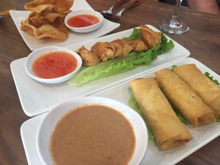 All the fried Indonesian dishes at D'Jakarta