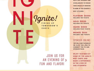 Spend preHalloween Dining with Local Chefs and Supporting At Risk Teens- C-CAP Ignite