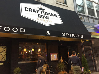 Setting the Bars High: Craftsman Row & Bar One
