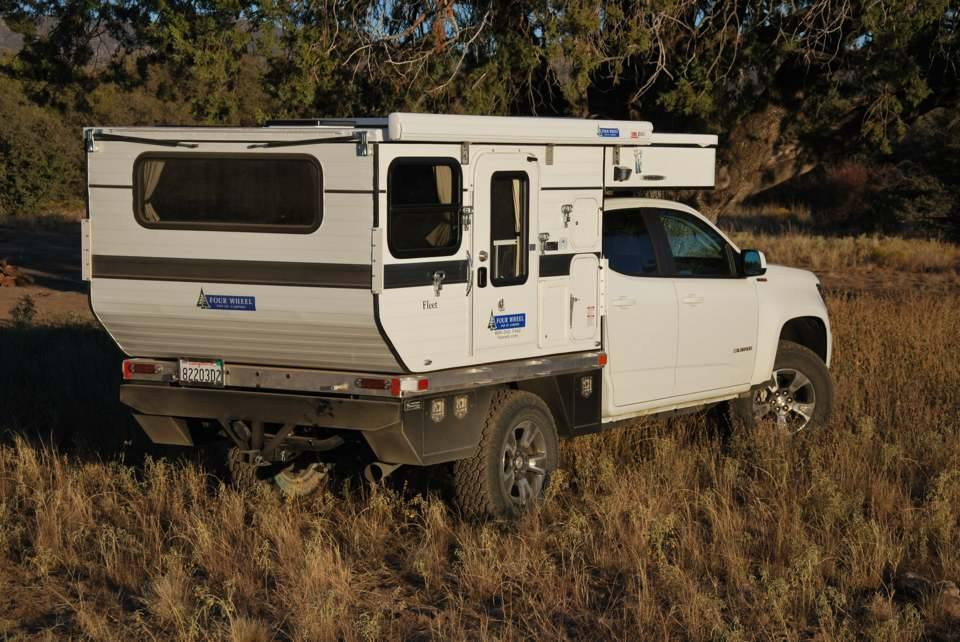 Chevy Colorado Diesel with Fleet Flat Be