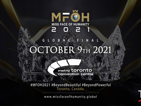 Oct 9th 2021 / Miss Face Of Humanity 2021 Global Final