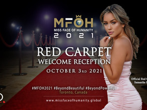 Oct 3rd 2021 / Red Carpet Welcome Reception