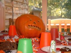 Spaß bei der Halloween Party