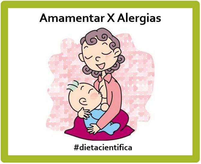 Amamentar combate alergias