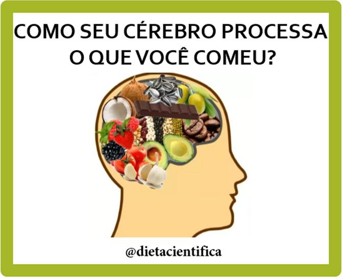 Como o cérebro processa o que você comeu?