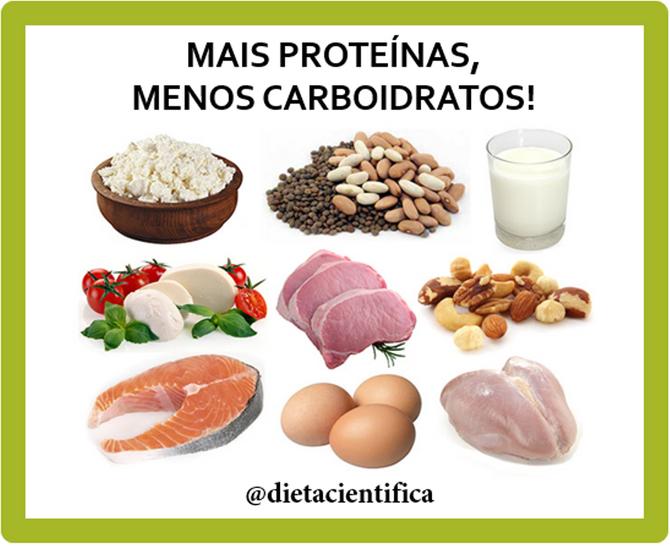 Dietas ricas em proteínas diminuem a produção de gordura