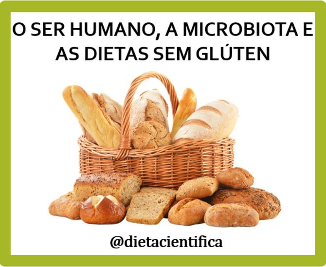 O ser humano, a microbiota e o glúten