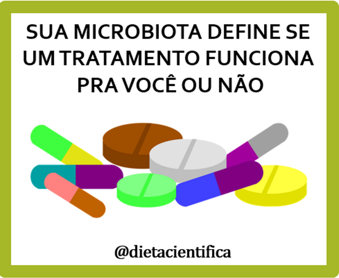 Sua microbiota define a eficácia do seu tratamento
