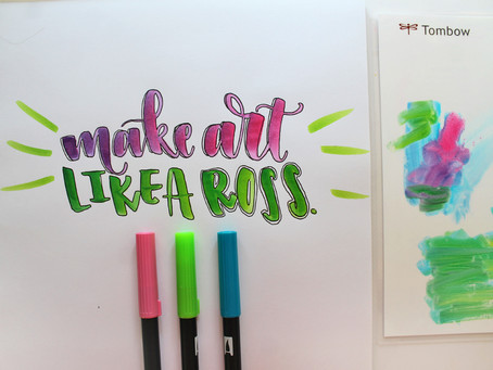 3 Ways to Use the Tombow XL Blending Palette
