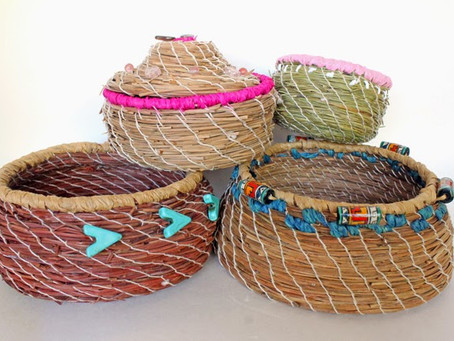 Adventures in Pine Needle Basketry