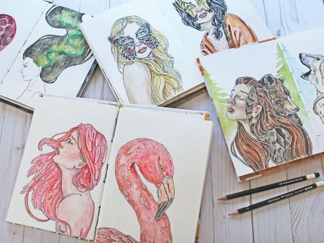 My Sketchbook Portfolio
