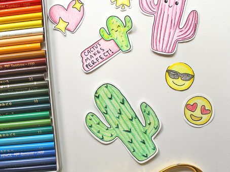 How to Draw Your Own Stickers!