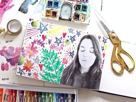 New Online Class: Watercoloring in Your Art Journal